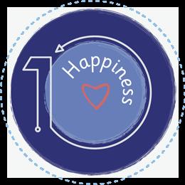 Happiness values icon